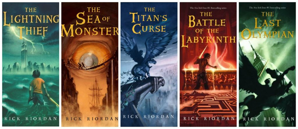 Percy Jackson Series, Word Count