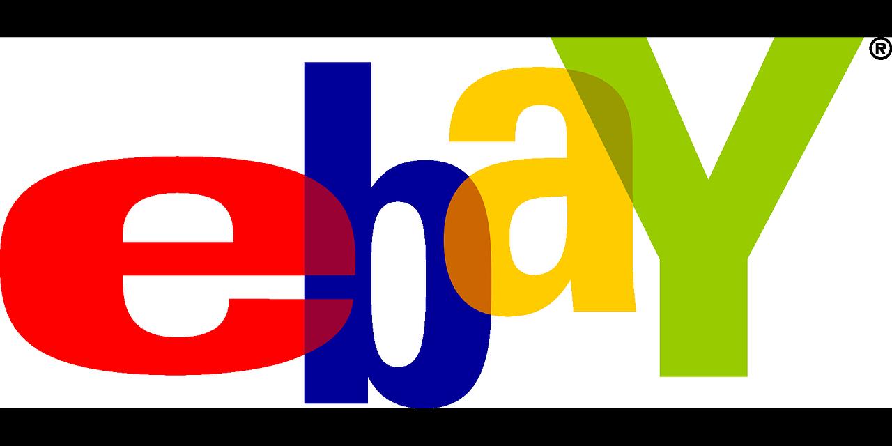 ebay logo, 4 letter brand