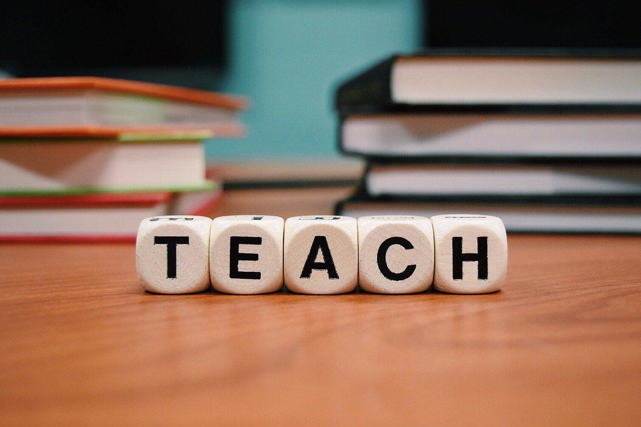 teach, letters