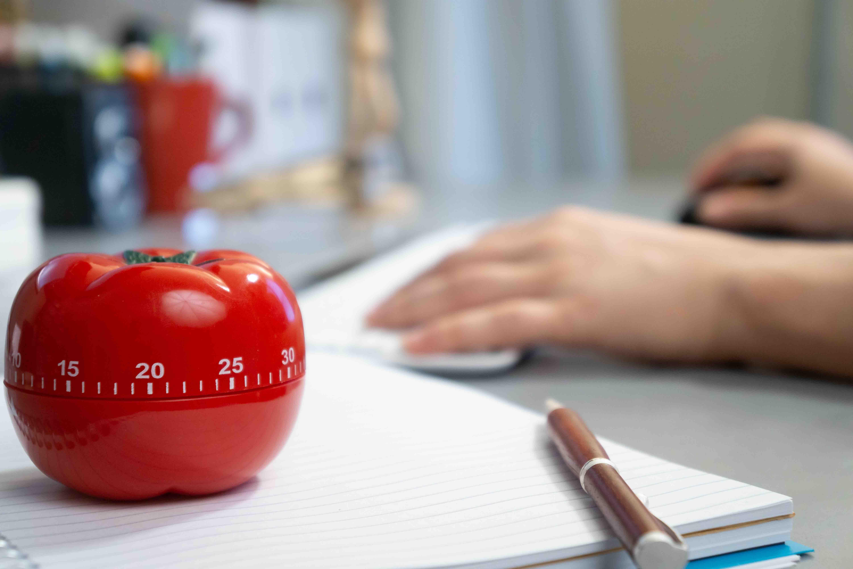 Pomodoro timer, productivity tool
